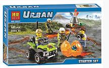 """Конструктор Bela City 1063 """"Исследователи вулканов"""" (Аналог Lego City 60120), 107 дет"""