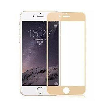 Стекло Full Coverage Iphone 7/8 gold, фото 2