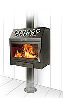 Гармошка Термофор дровяная компактная печь-камин