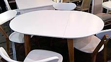 Обеденный стол в скандинавском стиле Женова 1100 GOOD WOOD Рускополянский Мебельный Комбинат Явир, фото 3