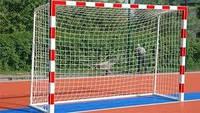 Сетка для мини-футбола D-4,5 мм, яч.10 см (футзальная, гандбольная) #1
