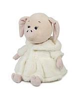 Мягкая игрушка Maxi Toys Свинка Зефирка в белой шубке 20 см (MT-MRT031808-20)