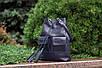 Женская кожаная сумка 17 синий флотар 01170103, фото 3
