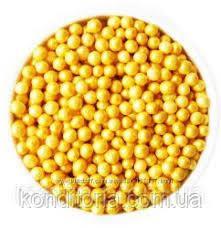 """Драже рисове в глазурі """"Золото"""" ,3 мм. 200г"""