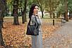 Женская сумка кожаная 18 черный флотар 01180101, фото 2