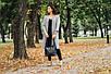 Женская сумка кожаная 18 черный флотар 01180101, фото 5