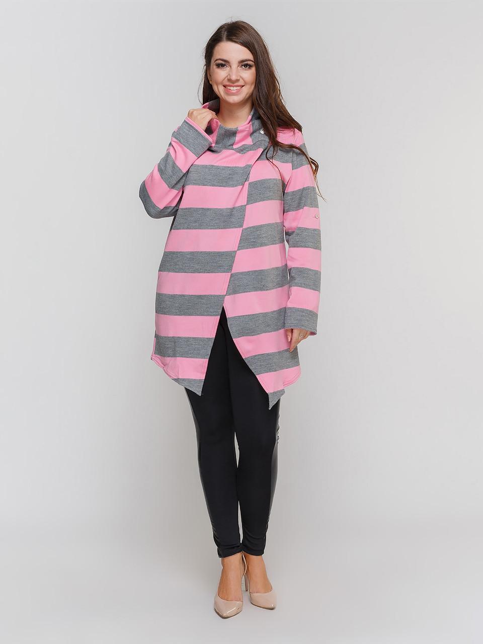 Кардиган LiLove 4195 розовый  54-56