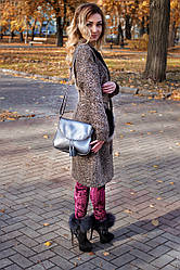 Маленькая сумка женская 19 никель флотар 01190112