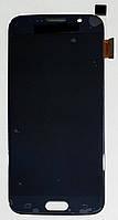 Модуль (сенсор+дисплей) для Samsung G920F Galaxy S6AMOLED темно-синій