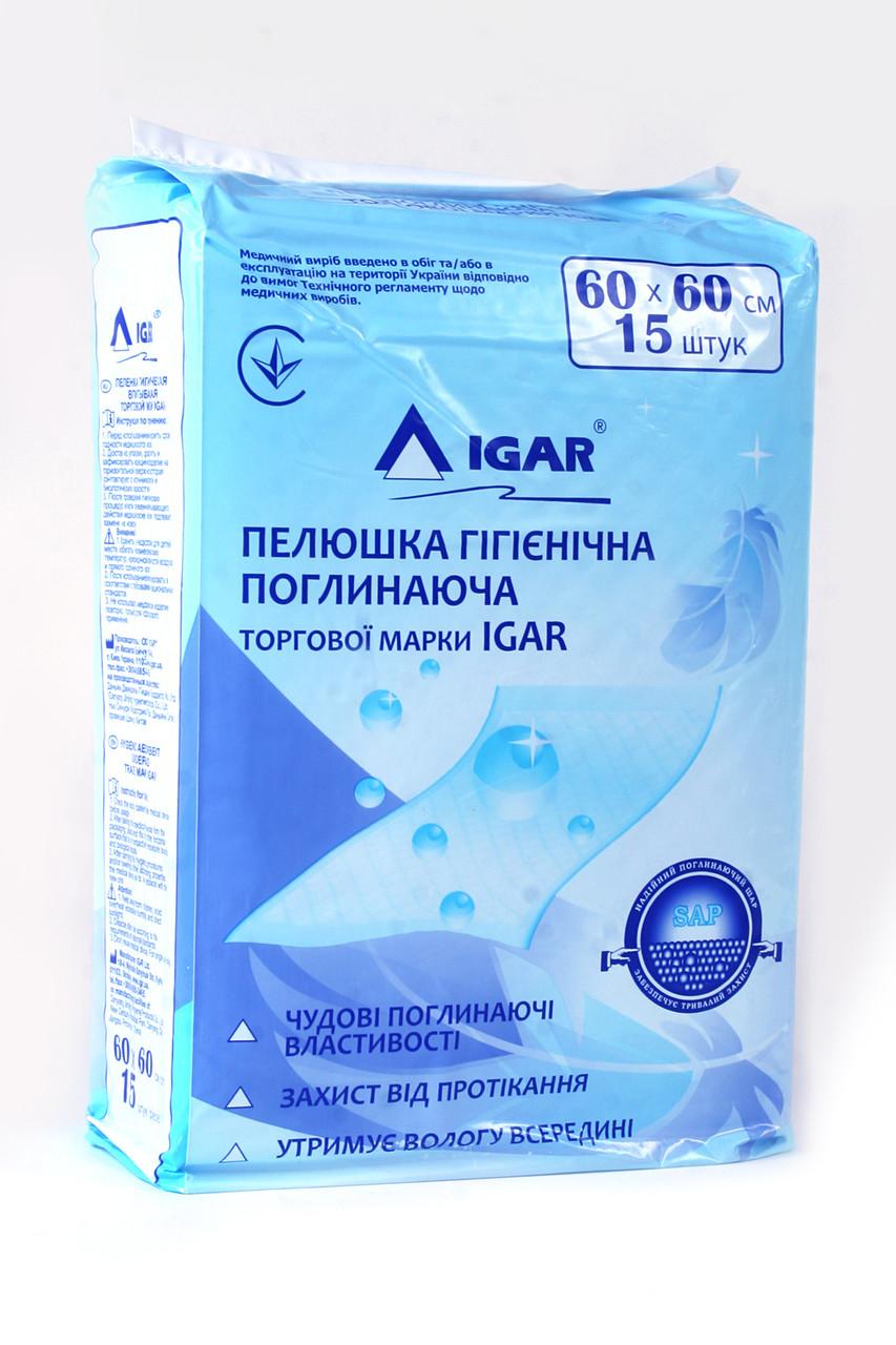Пеленки для взрослых  IGAR 60*60 №15