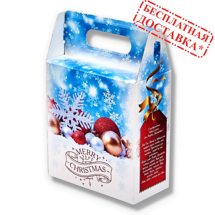 """Сладкий рождественский подарок """"Зимняя сказка"""" 1250 гр."""