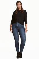 H&M + джинсы синие женские на 48р