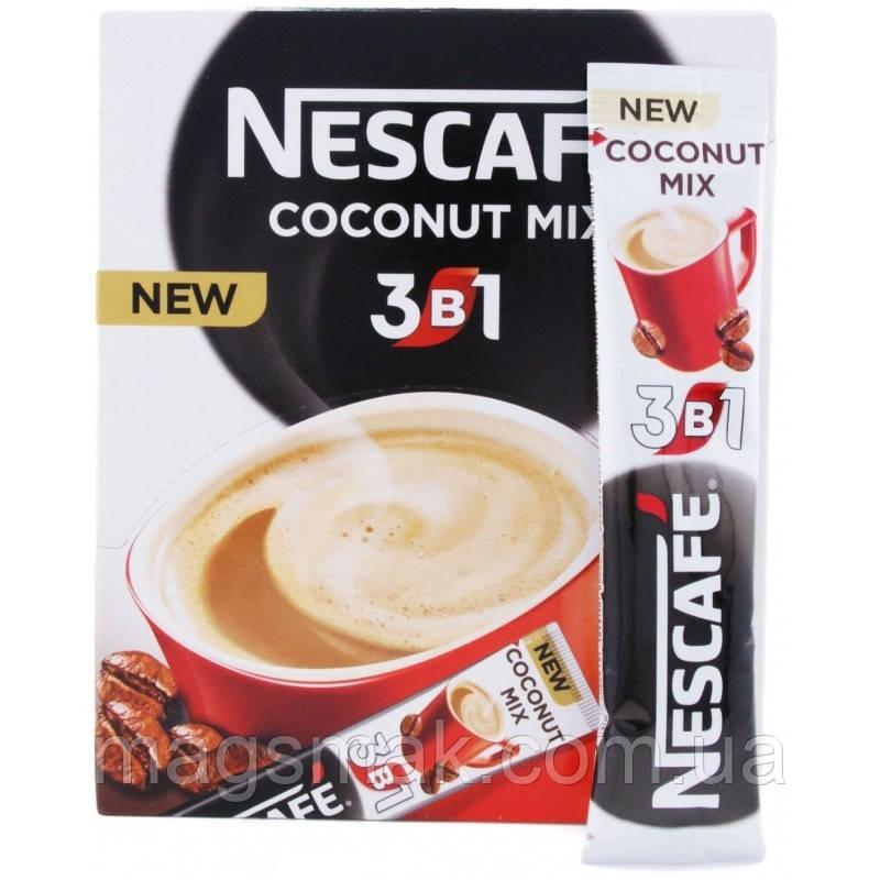 Кофе Нескафе 3в1 Кокос 13гр. х 52шт