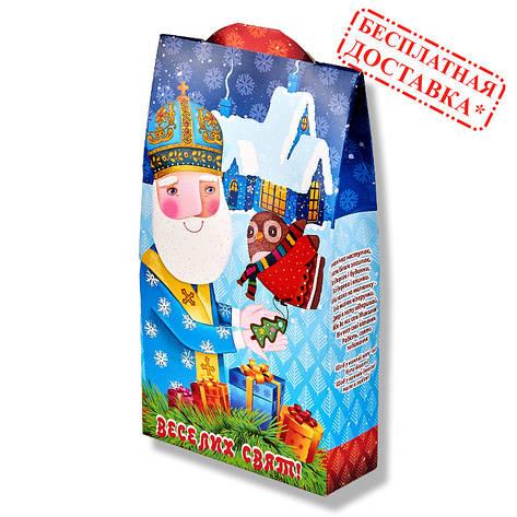 Сладкий новогодний подарок «Николай»,700 г., фото 2