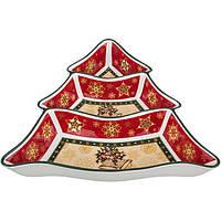 Менажница елочка 26*25 см Christmas Lefard