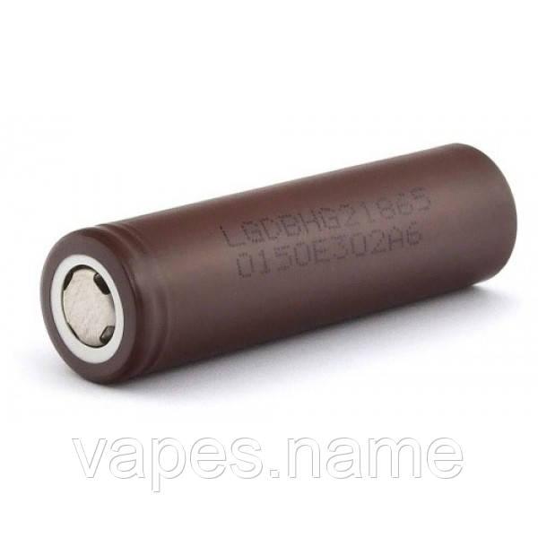 Аккумулятор 18650 LGDBHG2 3000мАч 20А