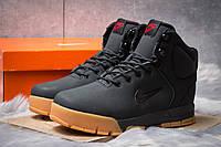 Зимние ботинки на меху в стиле Nike ACC Winter, черные (30392),  [  41 42 43 45 46  ]