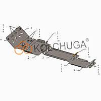 Kolchuga Защита двигателя, КПП, радиатора и раздатки на Chevrolet Suburban (LS) X '00-06 (ZiPoFlex)