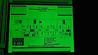 Фотолюминесцентный  план эвакуации 300х400, фото 1
