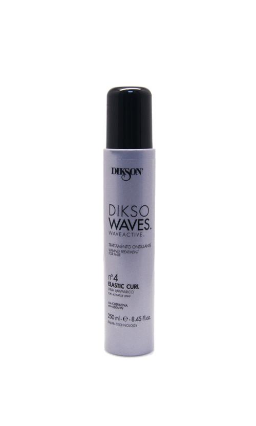 Dikson DIKSO WAVES №4 elastic сurl Спрей с кератином для локонов
