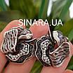 Роскошный серебряный комплект: серьги и кольцо с чернением и фианитами, фото 8