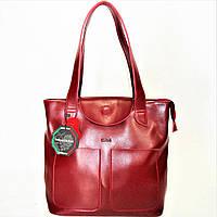 Удивительная женская сумка бордового цвета (кожа) TLL-420311, фото 1