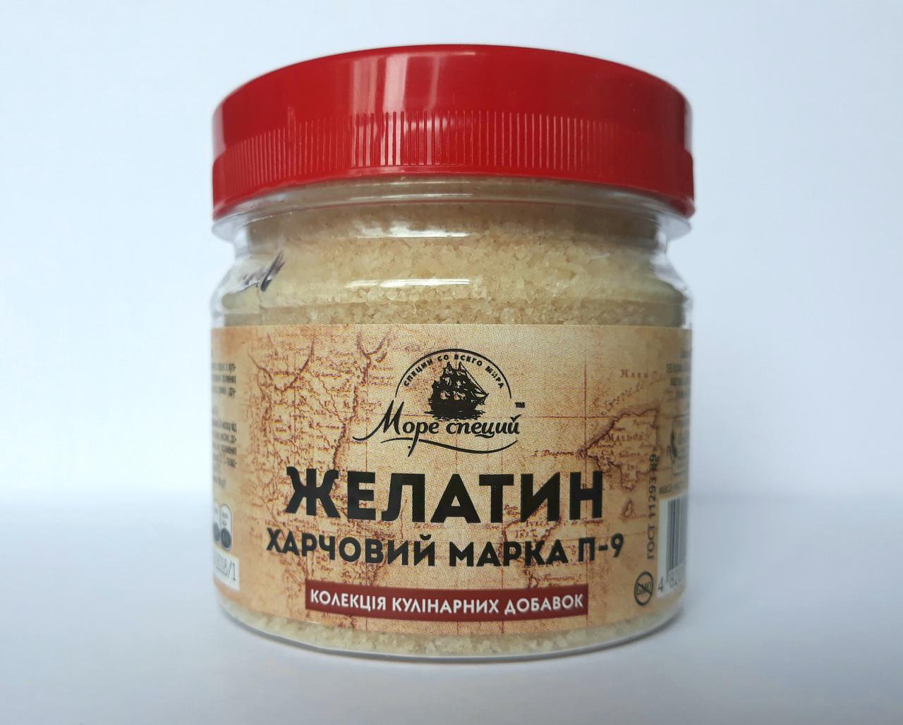 Желатин пищевой 130 г., баночка п/э