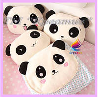 Декоративные подушки панды под заказ с Вашим логотипом (от 100 шт)