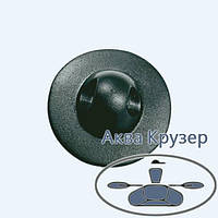Лееродержатель малый, основание ø 50 мм, цвет черный, для надувных лодок ПВХ, байдарок, фото 1