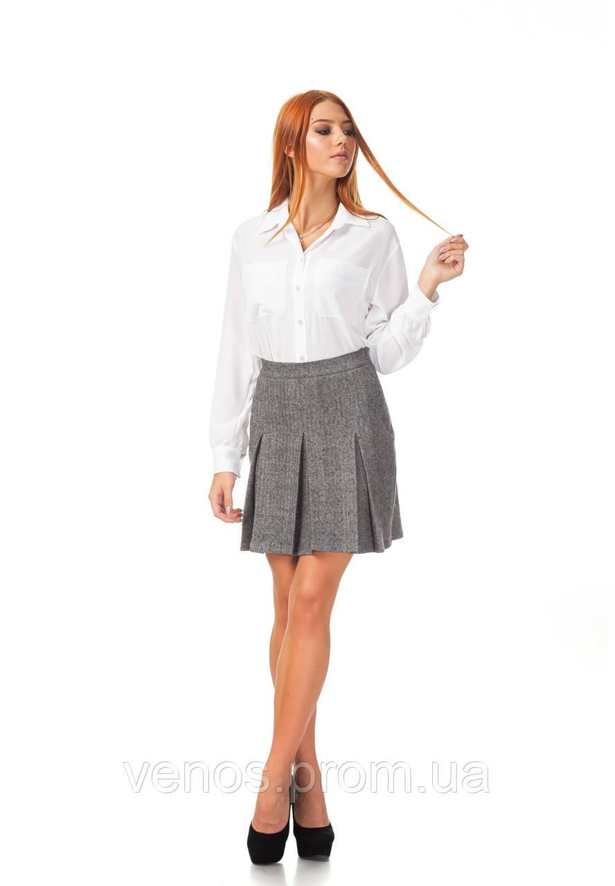 Женская юбка в скалдку. Ю097