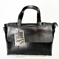 Женская сумка GАLАNTY черного цвета IWW-140061 (кожа), фото 1