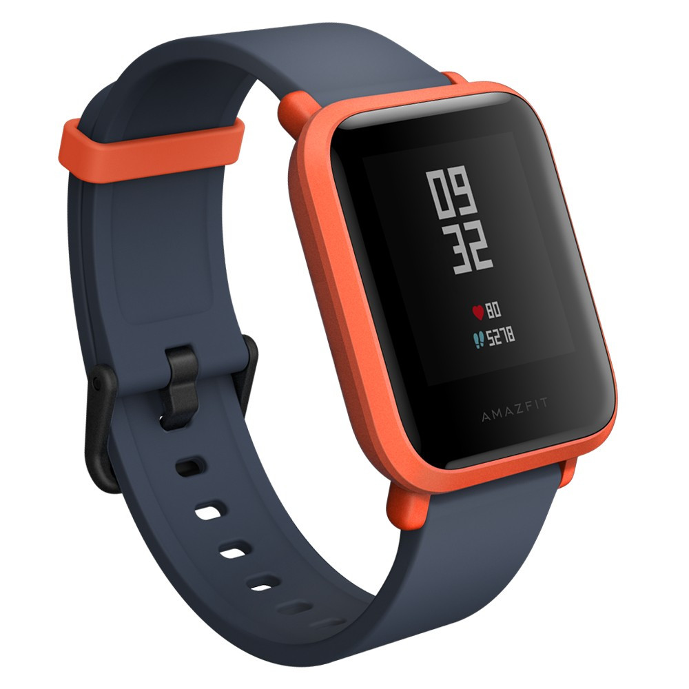 Amazfit Bip Smartwatch (Red) Global
