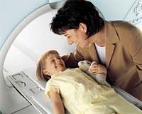 Пакет для снимков МРТ, как рекламоноситель.