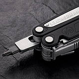 Мультитул LEATHERMAN Charge ALX  кожаный чехол  подарочная коробка  метрические биты, фото 4