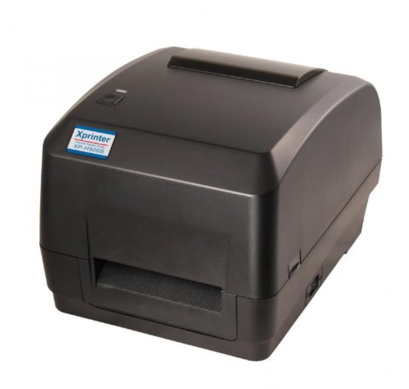 Термотрансферный принтер  Xprinter XP-H500B для печати этикеток, штрих-кодов и наклеек