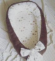 Гнёздышко кокон для новорожденных, фото 1