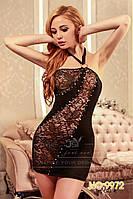 Изящное черное платье S/M