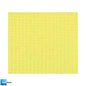 Салфетка влаговпитывающая армированная 16х16см, желтая,  1 шт