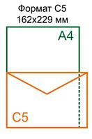 Конверт С5 (162*229)