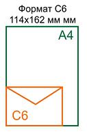 Конверт С6 (114*162)