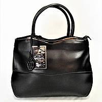 Женская сумка GАLАNTY кожа черного цвета WСЕ-070108, фото 1
