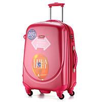 Ударопрочный большой чемодан Ambassador Classic A8503 Малиновый