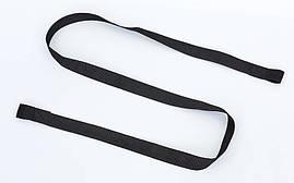 Коврик для йоги Замшевый каучуковый двухслойный 3мм Record FI-5662-14, фото 2
