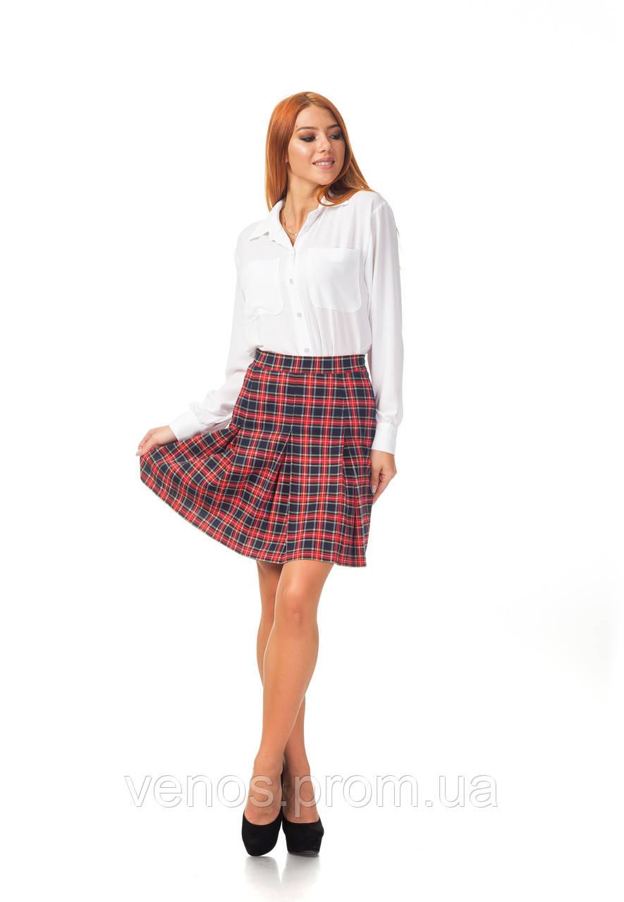 Женская юбка в складку. Ю097