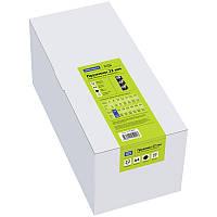 Пружины пластик D=25мм OfficeSpace, черный/белый, 50шт.