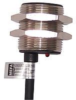 Индуктивный датчик для больших расстояний, металлический, 3/4-х проводный, размер корпуса М30х1
