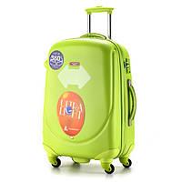 Ударопрочный большой чемодан Ambassador Classic A8503 Салатовый