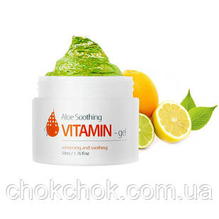 Крем для лица The Skin House Aloe Soothing Vitamin Gel