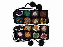 Гетры женские шерстяные ручной вязки