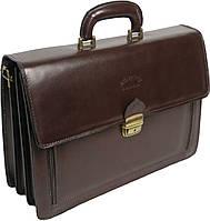 Портфель из натуральной кожи Rovicky AWR-1-2 коричневый